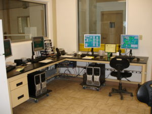 Feed & Grain Process Control - Control Room