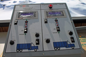 Asphalt Process Control - Manual Panel
