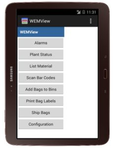 WEMView Mobile Device