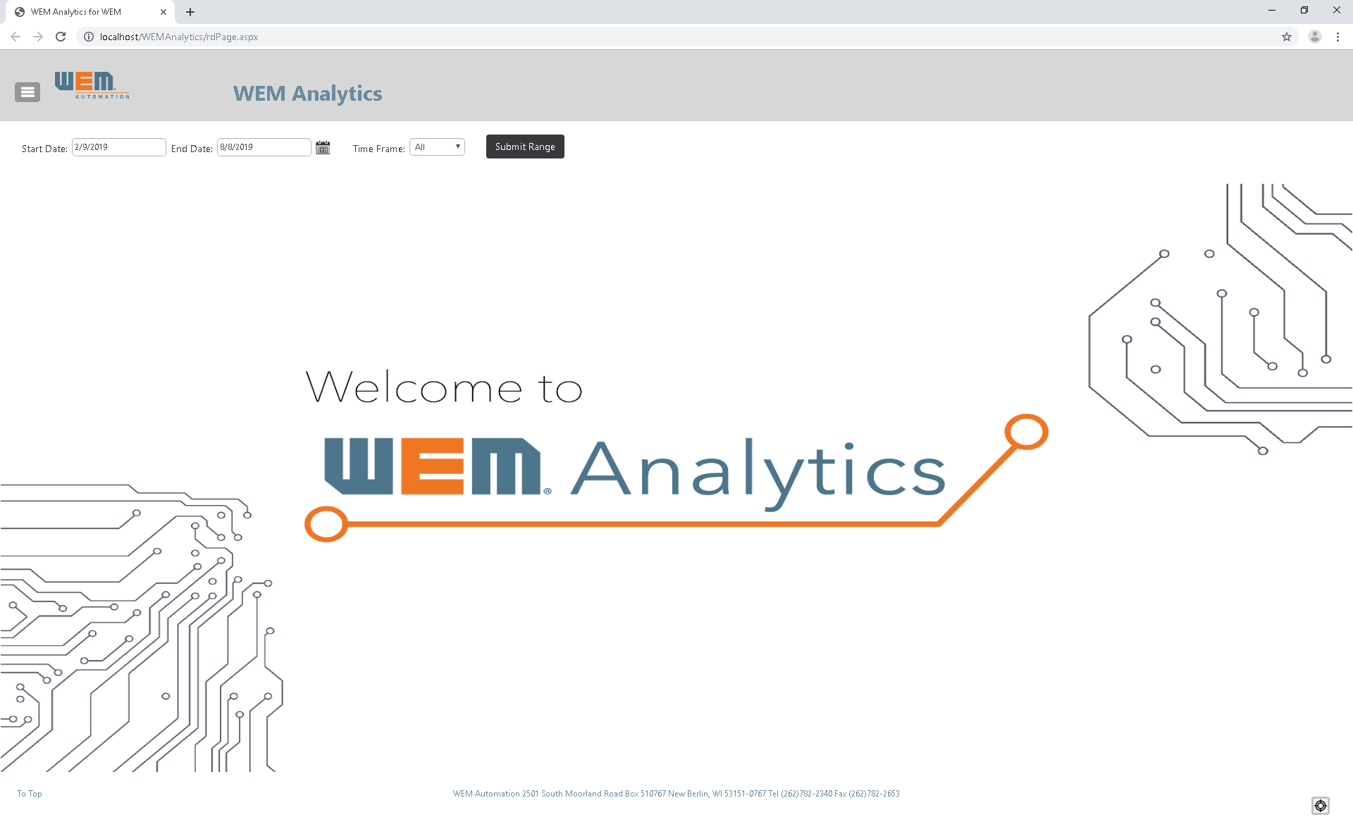 WEM Analytics